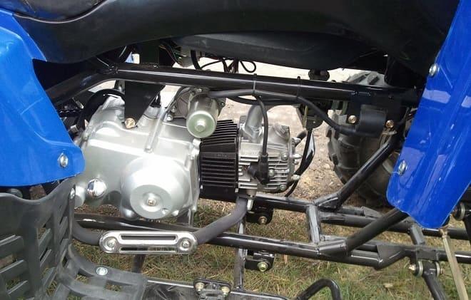 Мотор квадроцикла Рысь