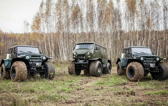 Популярные вездеходы на базе УАЗ