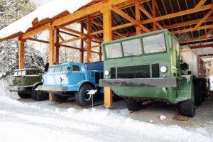 Вездеходы СССР: советские гусеничные и колесные не знающие преград машины