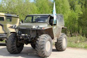 Утилитарные вездеходы Вепрь на шасси ГАЗ-33081 для перевозки людей и грузов
