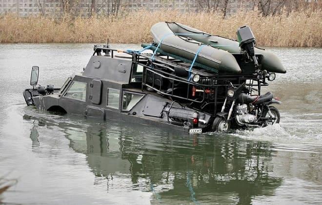 Вездеходы для охоты и рыбалки в труднопроходимых местах