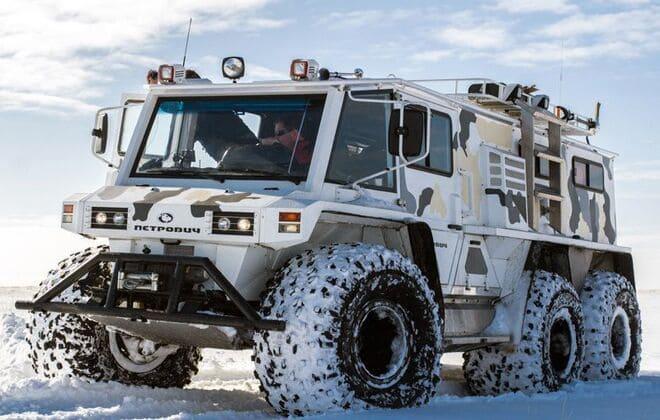 Вездеходы Макарова лучшая машина для снежных пустынь