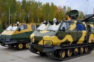 Военные вездеходы России: гусеничные и колесные амфибии для небольших армейских подразделений