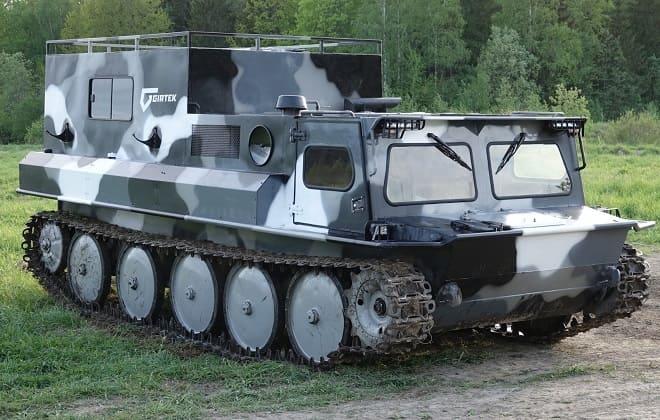 Военный вездеход ГАЗ