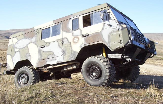 Военный Volvo Laplander