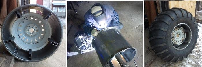 Изготовление колеса низкого давления