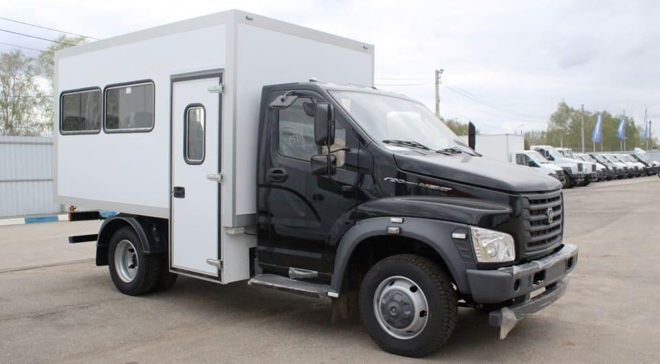 Новый вахтовый автобус ГАЗ от Луидор-Тюнинг