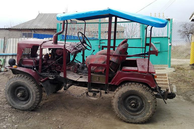 Сделать трактор на базе УАЗа