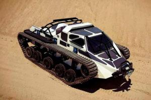 Самый скоростной вездеход в мире: уникальные гусеничные быстроходные модели