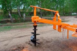 Как сделать навесной ямобур на трактор своими руками: чертежи, размеры, сборка и доработки