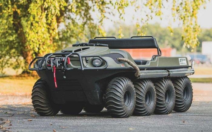 Вездеход восьмиколесный военный Argo Aurora 950 SX