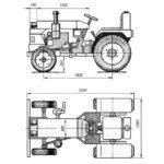 Простая схема трактора