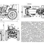 Схема трактора-самоделки