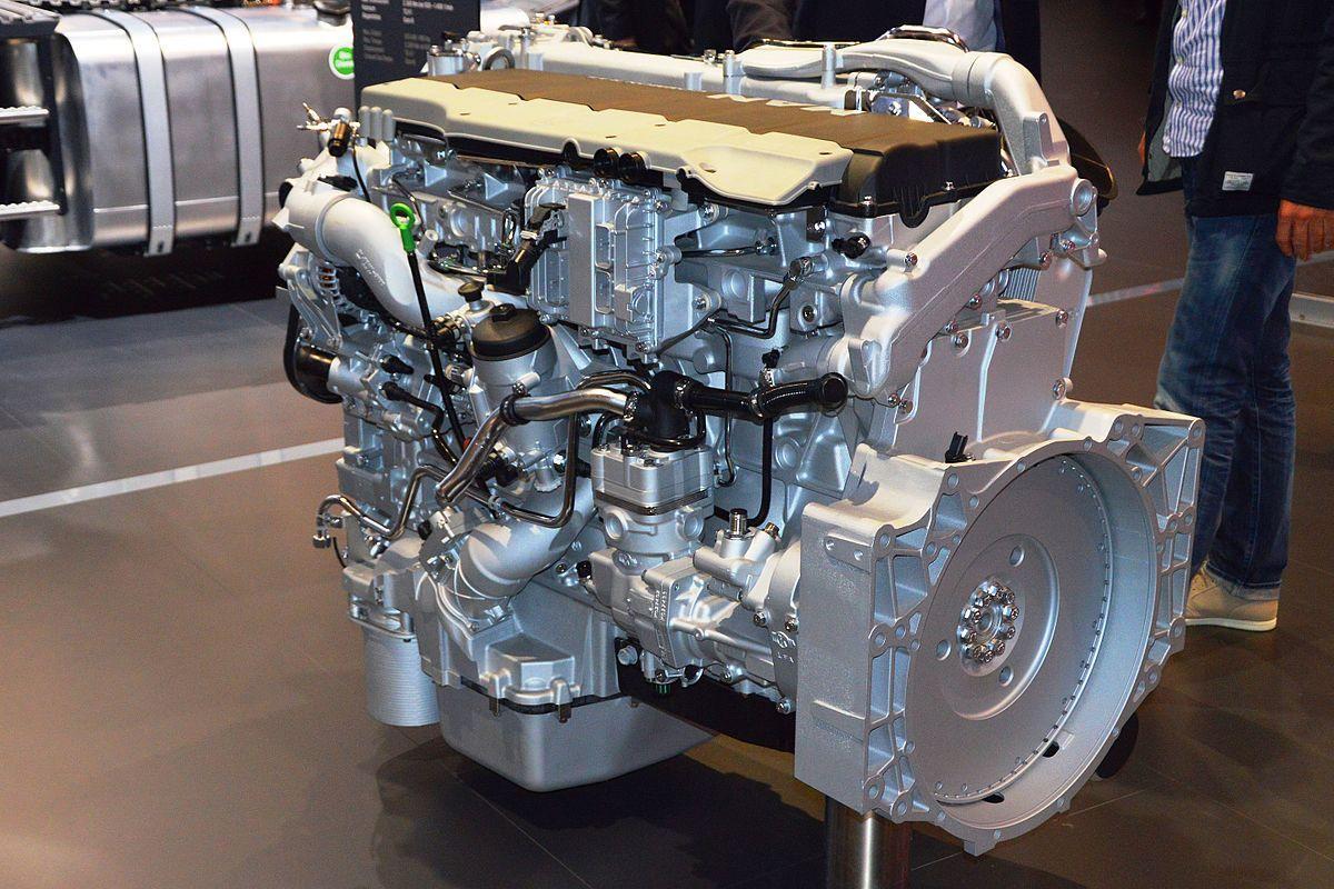 Дизельный двигатель МАН