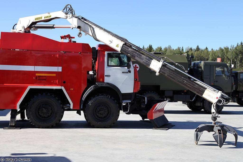 Пожарный КамаЗ АПСБ-6,0-40-10