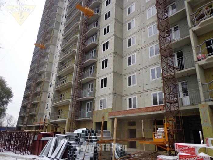 Строительство нового высотного дома